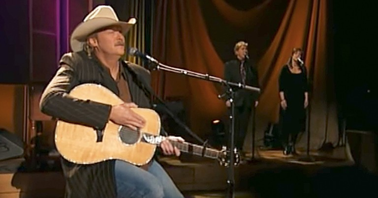 Alan Jackson Incredible Rendition Of 'I Love To Tell The Story'
