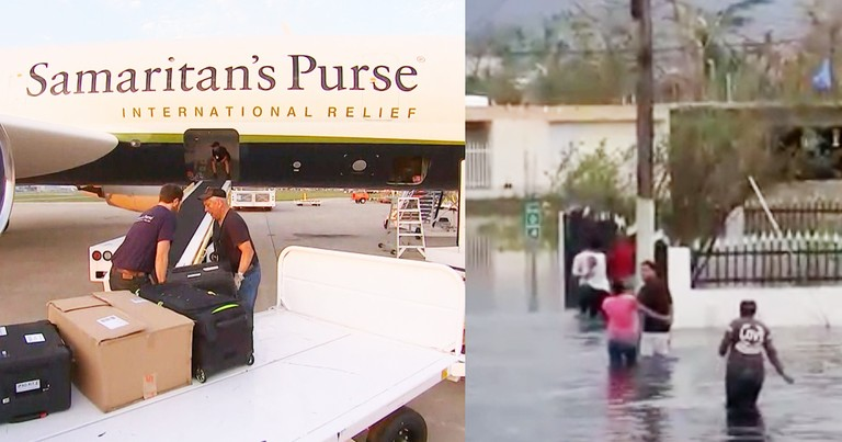 Christian Non-Profit Delivers 50,000 lbs Of Supplies To Hurricane Maria Survivors