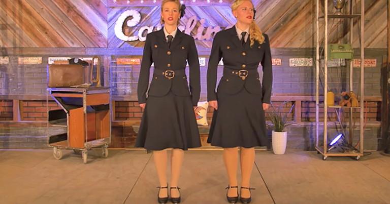 2 Women Perform Inspiring Rendition Of 'Ballad Of The Green Berets'
