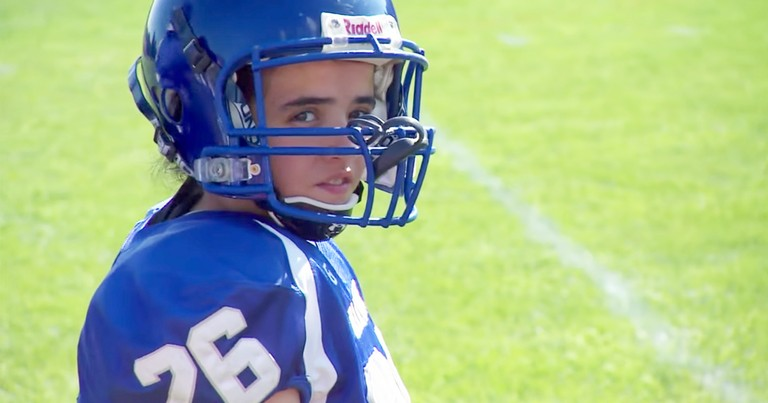 Brave Teen Girl Makes History Playing On High School Football Team