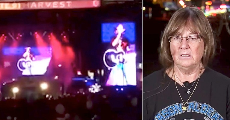 Las Vegas Shooting Survivor Calls Police Officer Her Guardian Angel