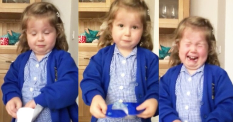 Precious Little Girl Melts Down Hearing News Of Baby Brother