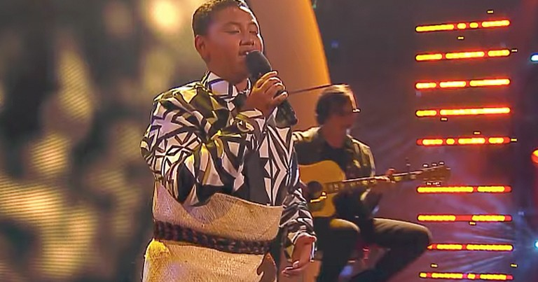 Talented 13-Year-Old Boy Belts Out Heartfelt Rendition Of 'Hallelujah'