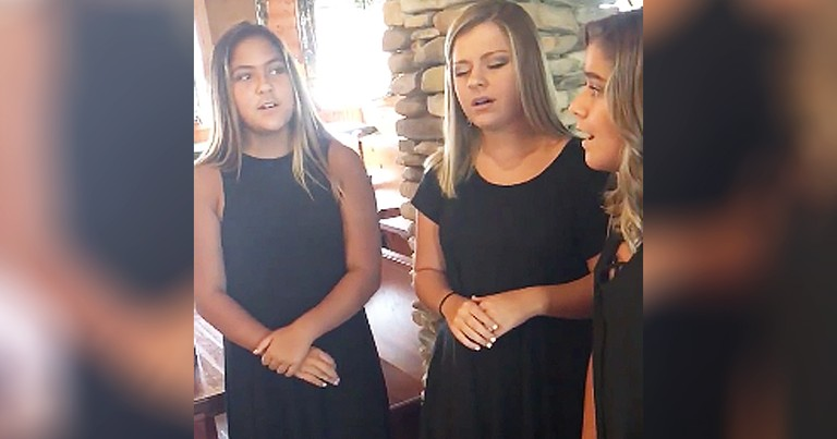 3 Sisters Beautiful A Cappella Performance Of 'The National Anthem' Goes Viral