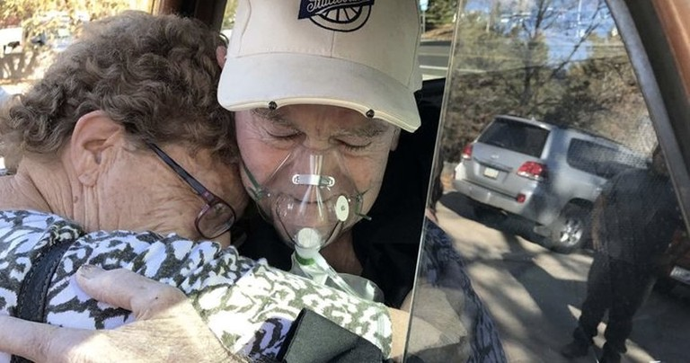 Trucker Gets Dying Wish To Take Final Ride In 62-Year-Old Studebaker