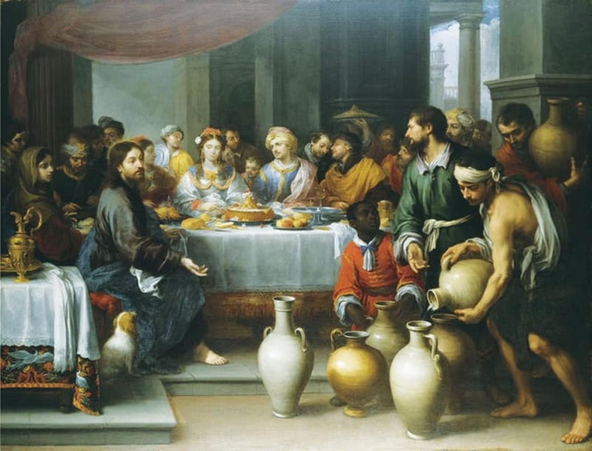 Jesus Turns Water into Wine Bible Story