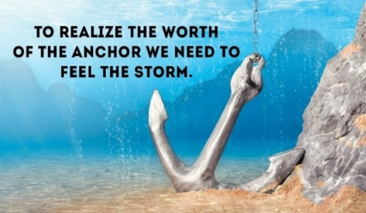 Bible Verses About Anchors