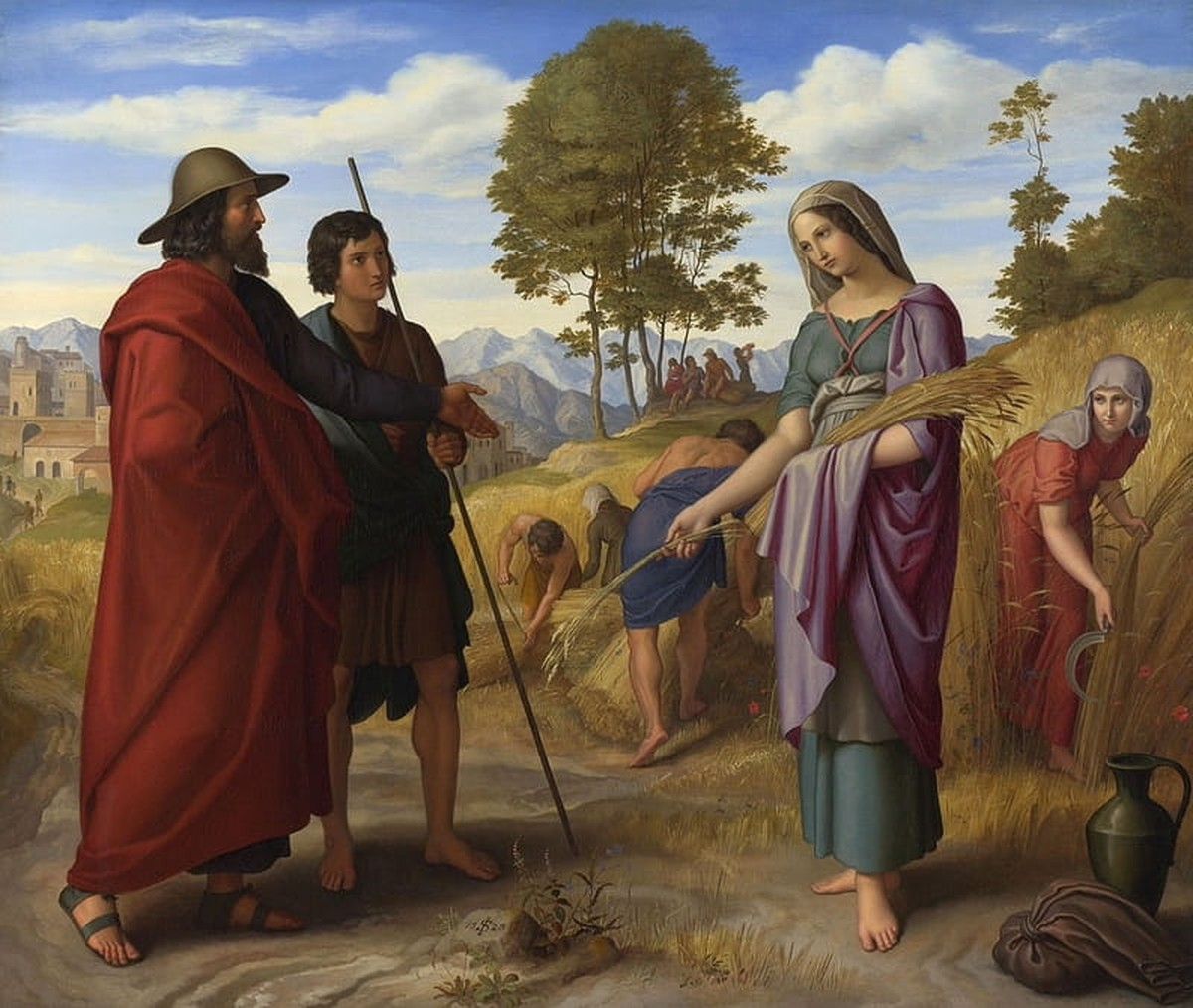 Ruth and Boaz - Bible Story