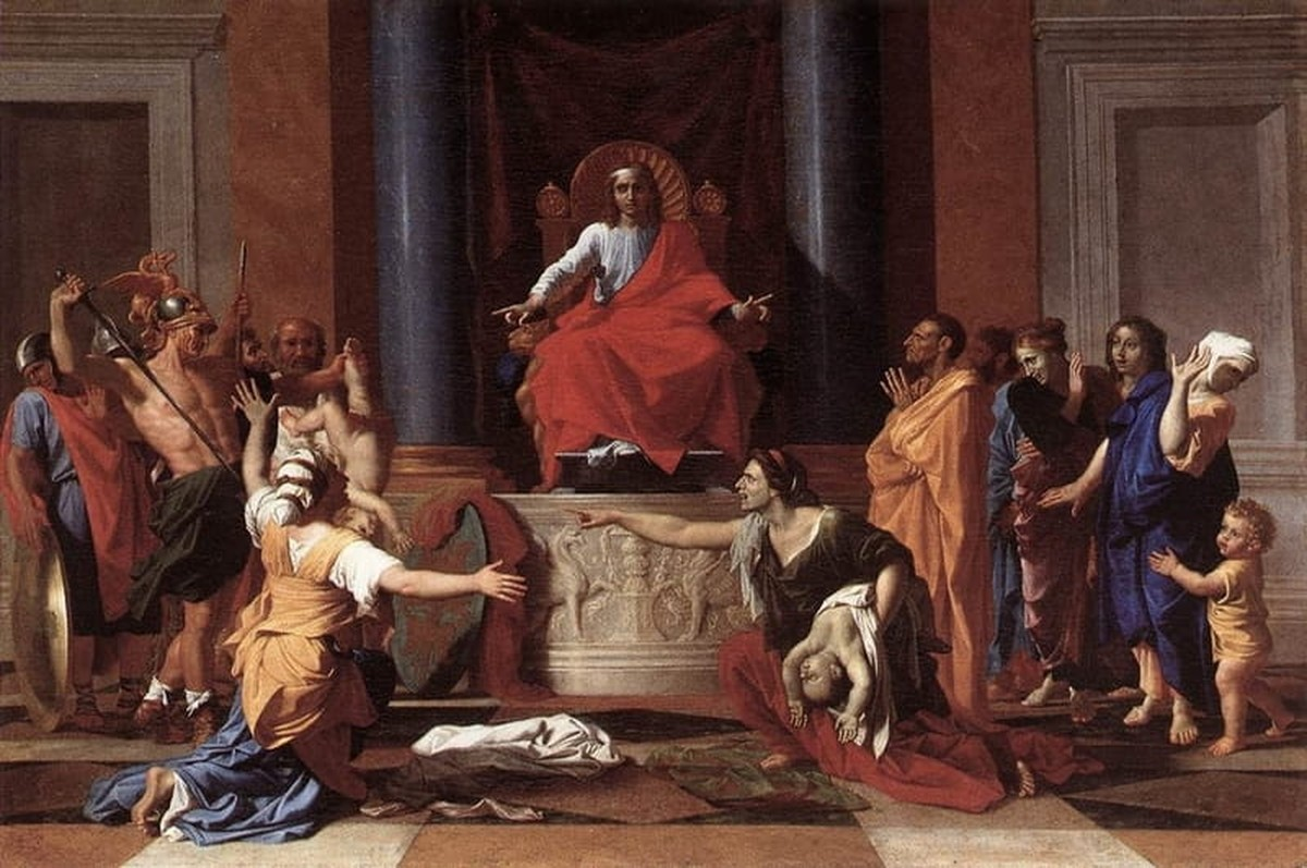 Judgment of King Solomon - Bible Story