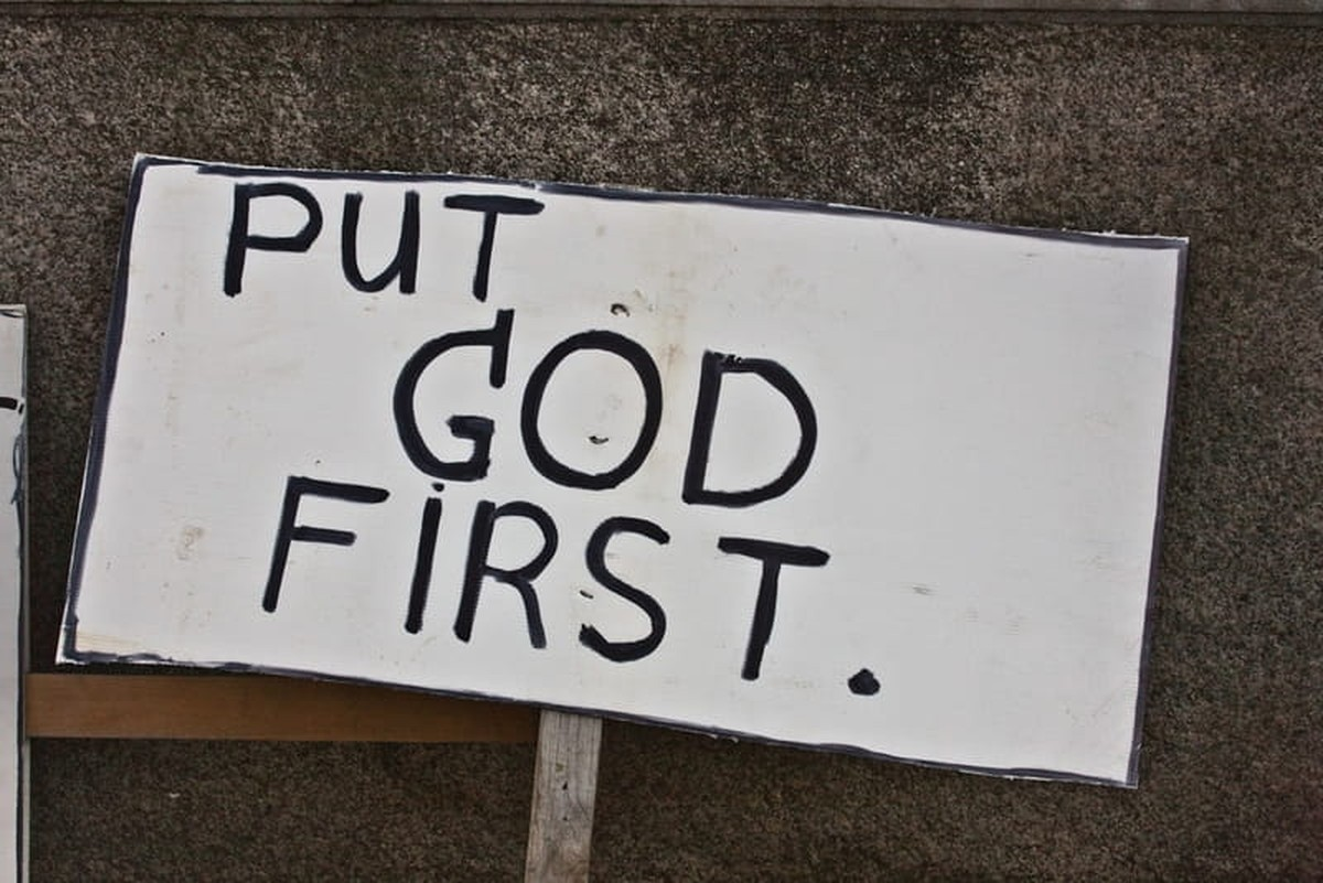Put God First - Bible Verses and Meaning