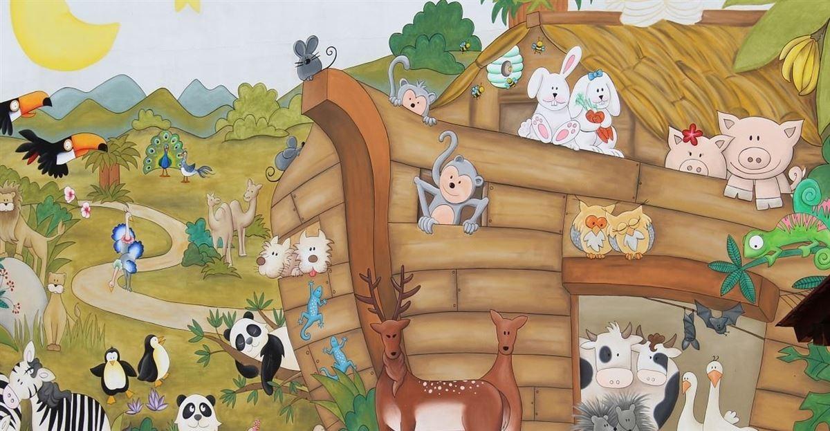 Sunday School Lesson: Noah and the Big Flood