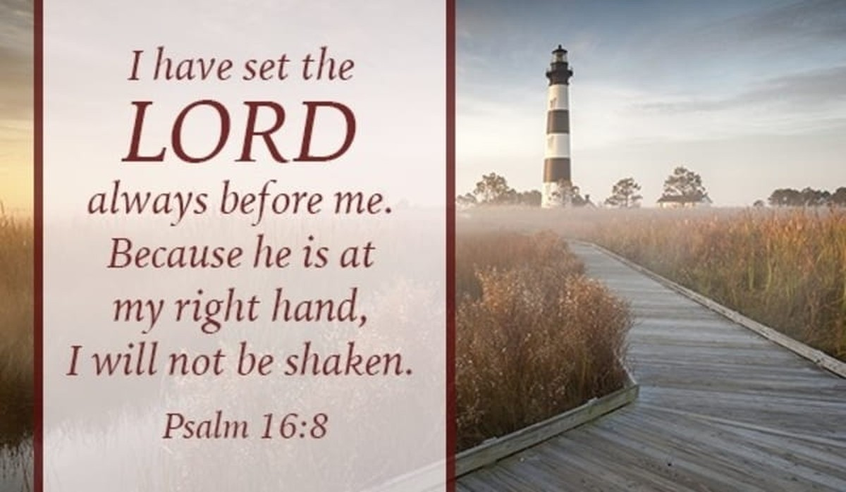 The Lord is Before Me