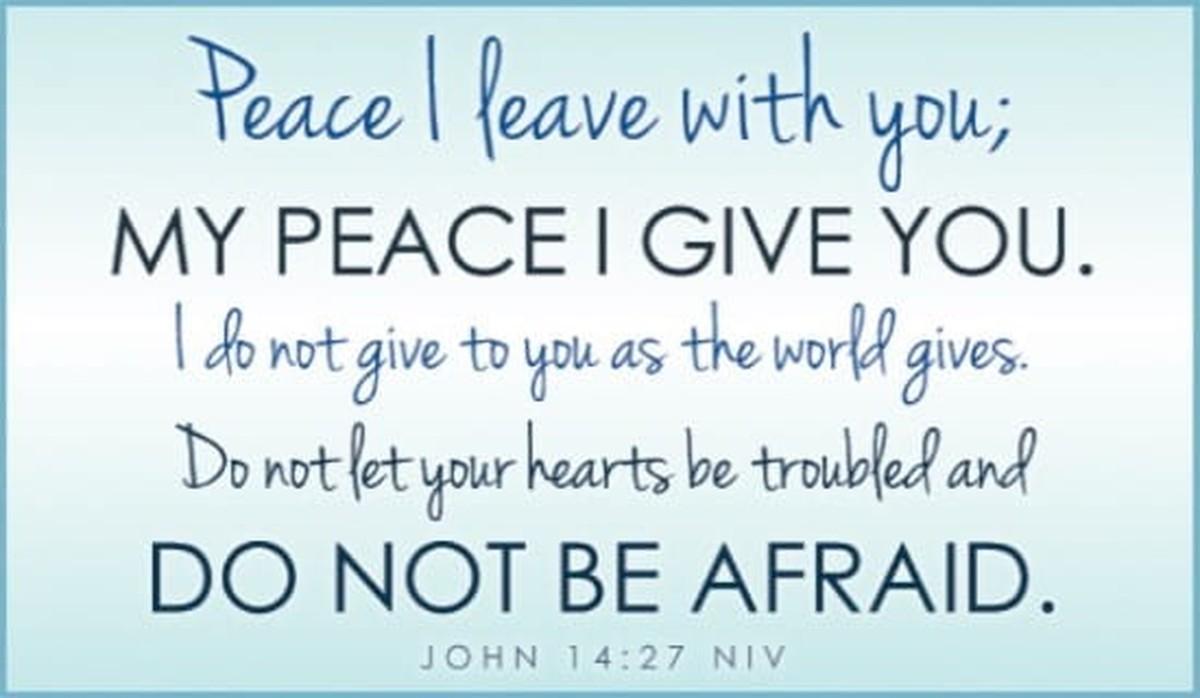 John 14:27 NIV