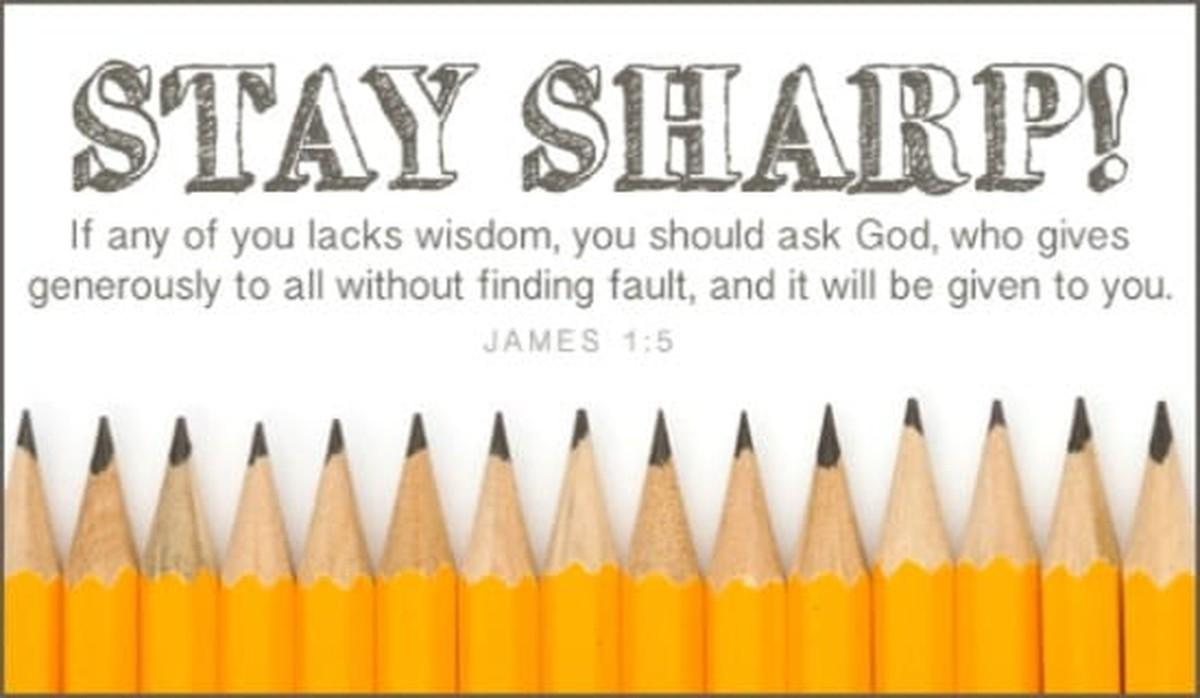 Stay Sharp!