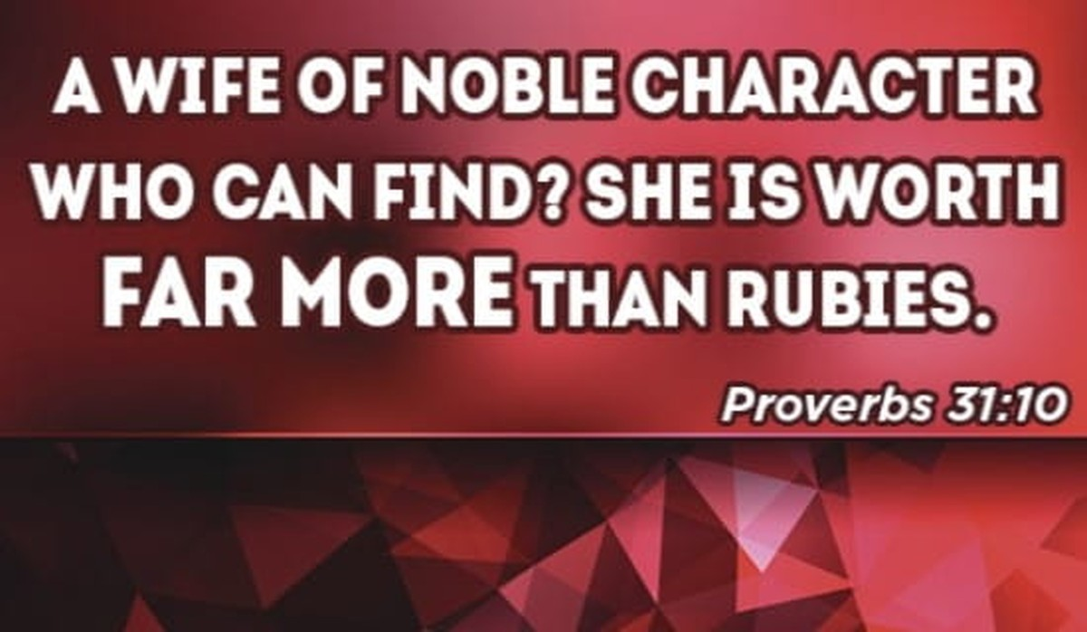 Treasure your wife :)
