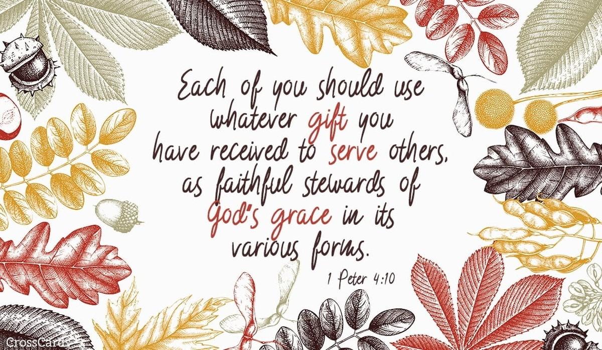 1 Peter 4:10