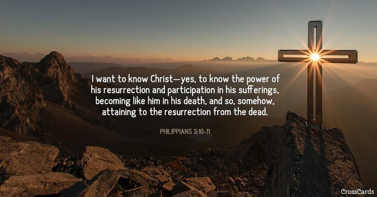 Philippians 3:10-11