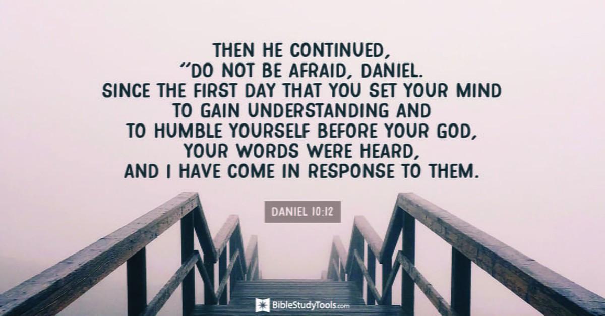 Daniel 10:12