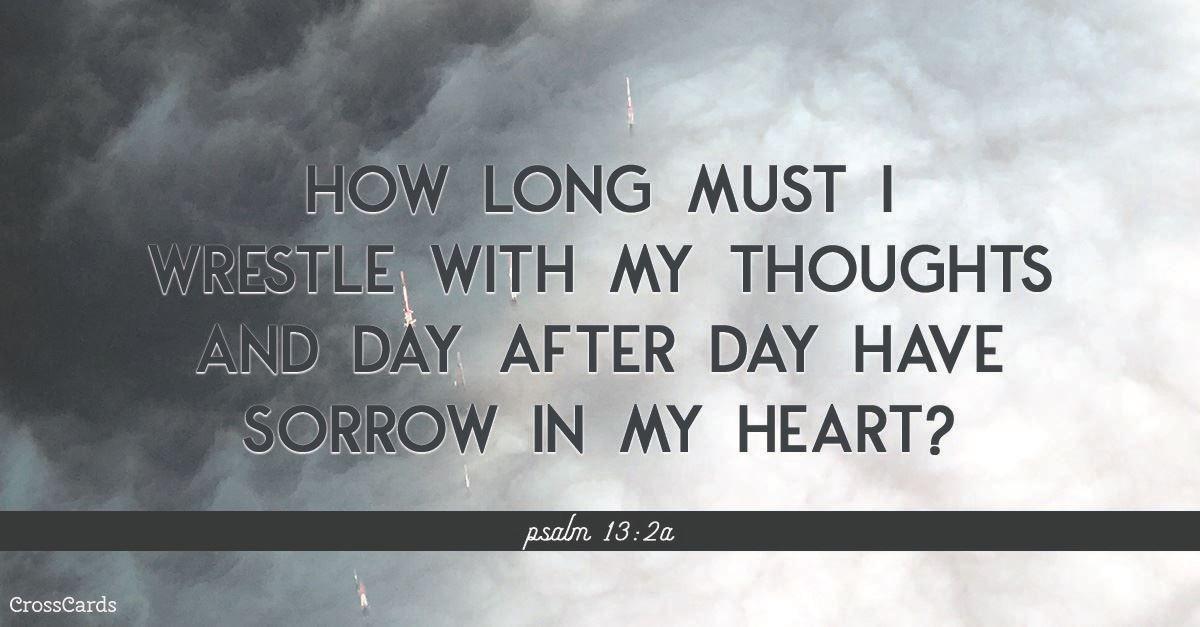 Psalm 13:2