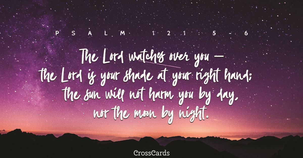Psalm 121:5-6