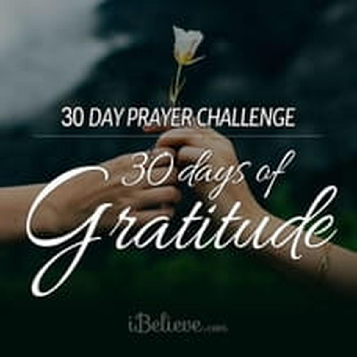 Our 30 Days of Gratitude Prayer Challenge