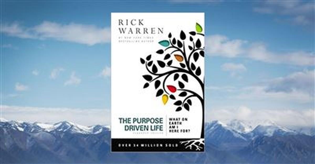 13. <em>The Purpose Driven Life</em> by Rick Warren, 2002