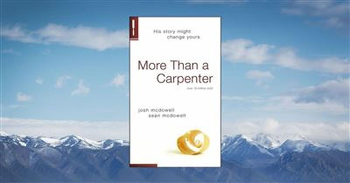 14. <em>More Than A Carpenter</em> by Josh McDowell, 1977