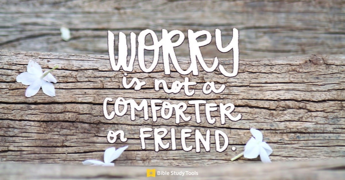 Don't Get Caught in the Worrying Trap - (John 10:10) - Your Daily Bible Verse - October 16