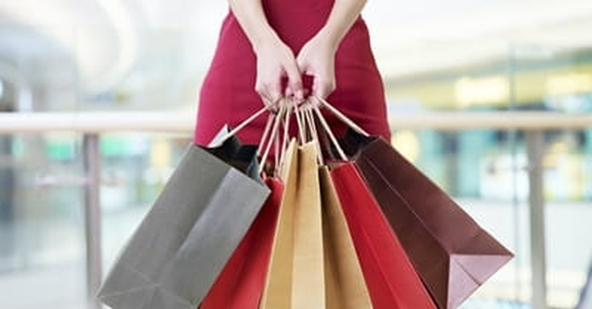 4. Hiding Your Shopping Bags.