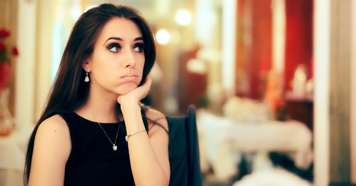single woman looking bored, things to look forward to besides getting married