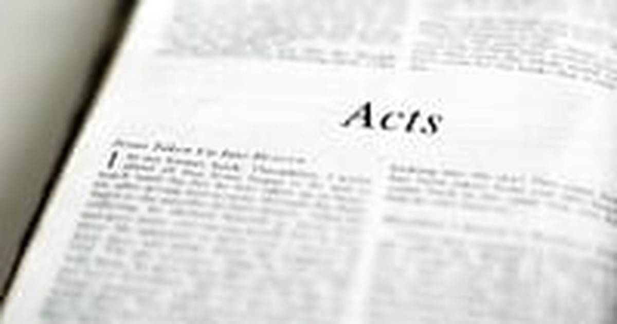 The book of Acts gives us a clearer picture:
