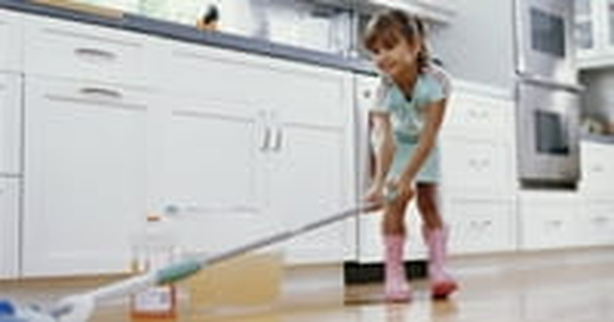 4. Train kids to clean up after themselves.