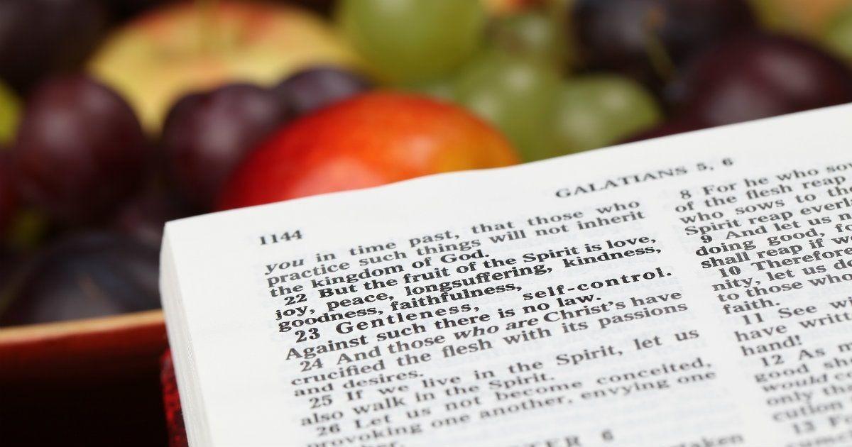 fruit of the spirit bible