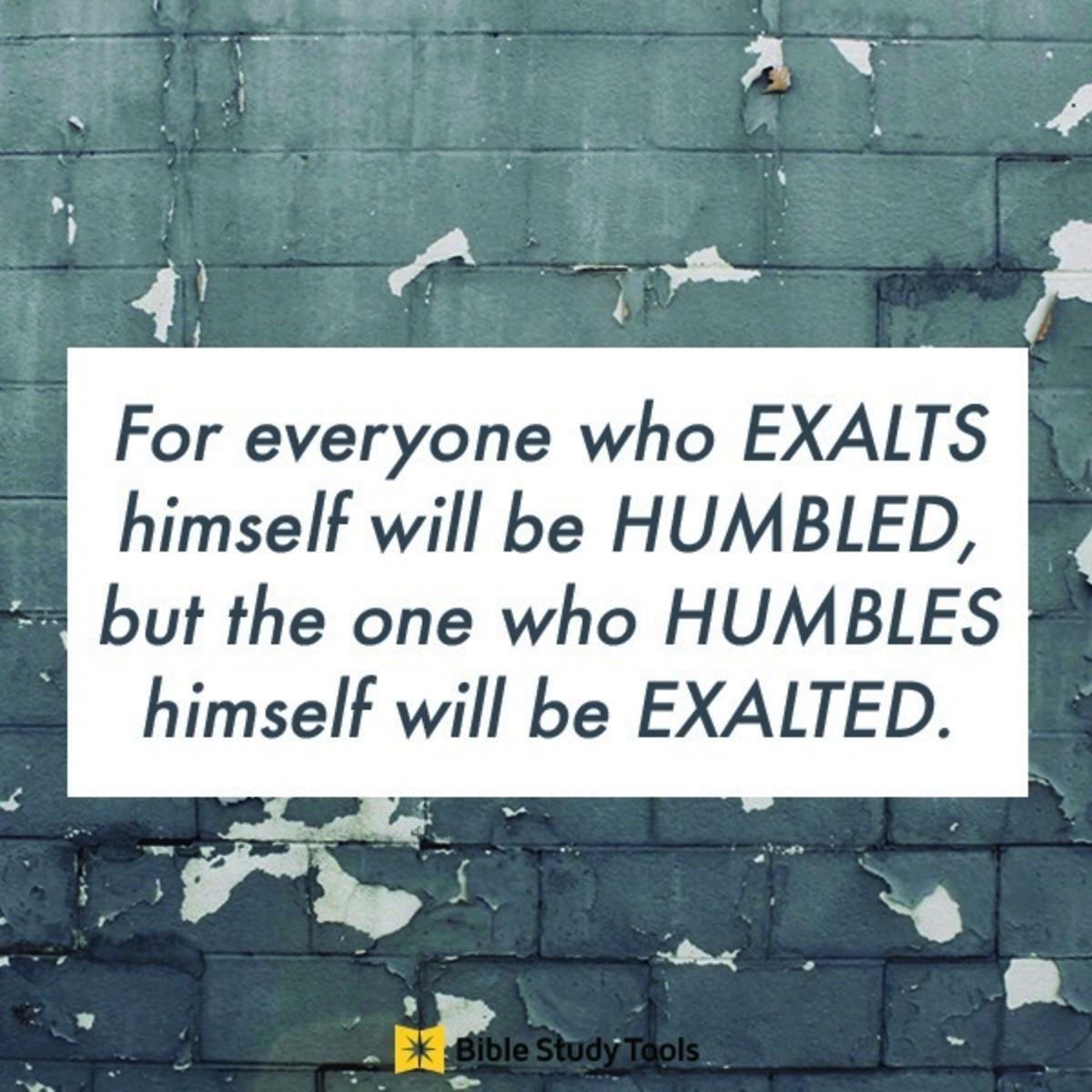 Your Daily Verse - Luke 14:11