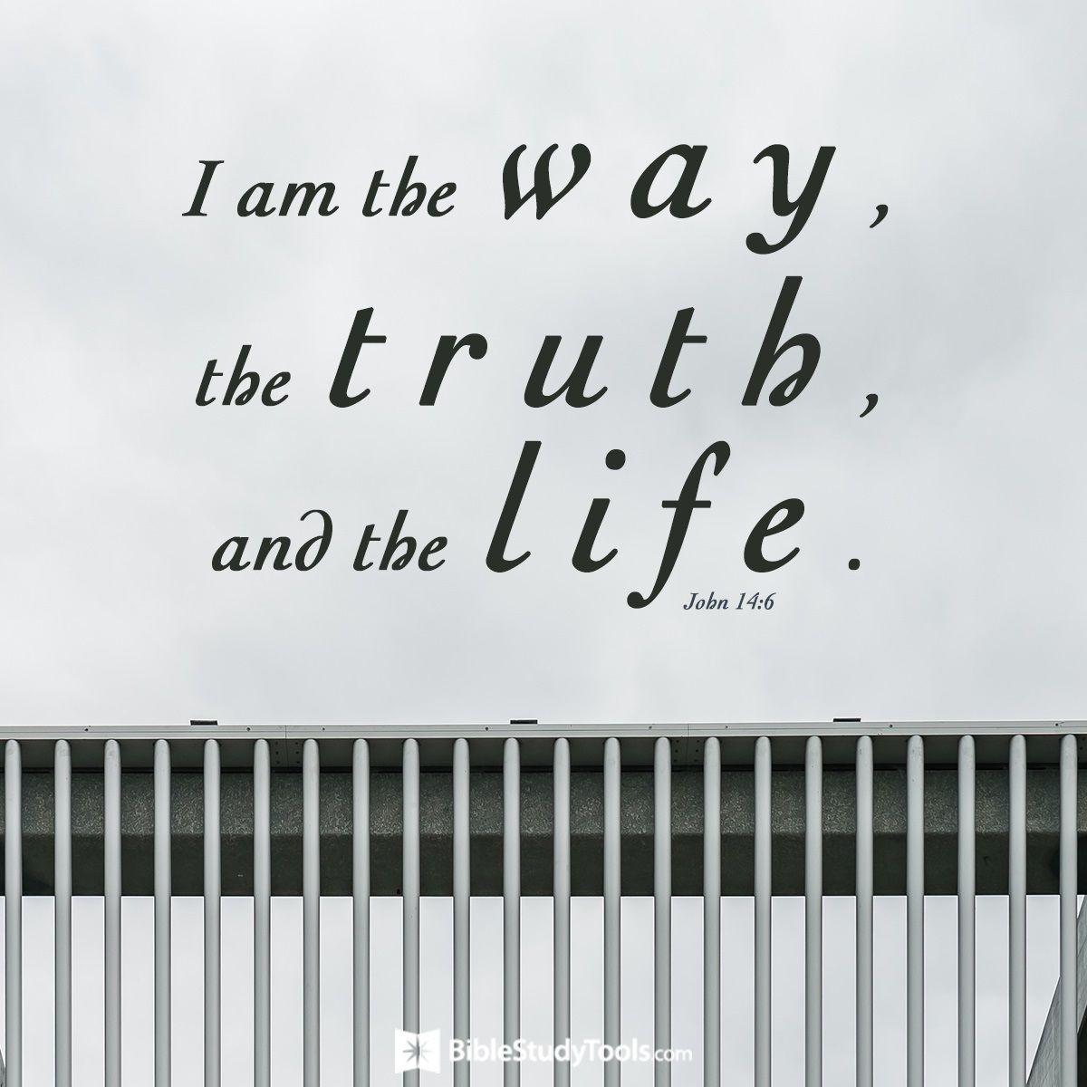 Your Daily Verse - John 14:6