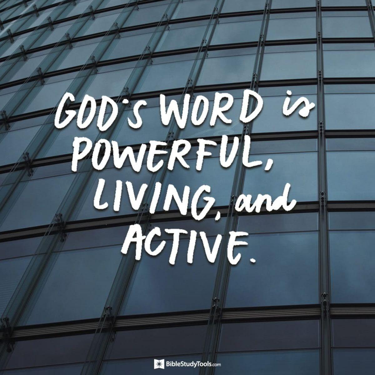 Your Daily Verse - Hebrews 4:12