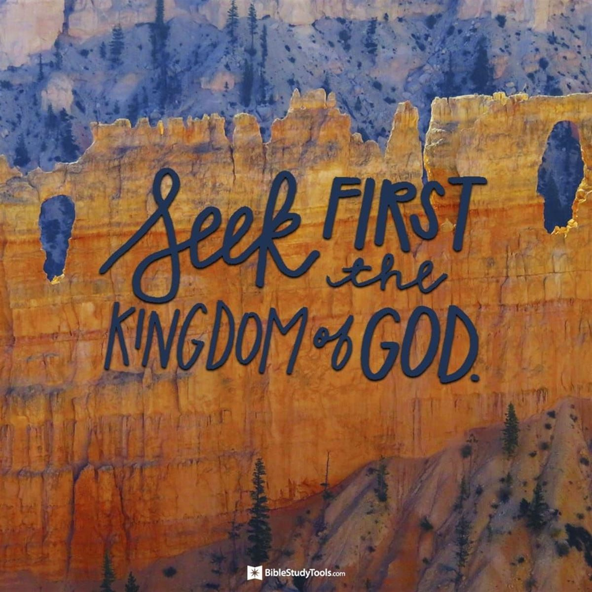 Your Daily Verse - Matthew 6:33