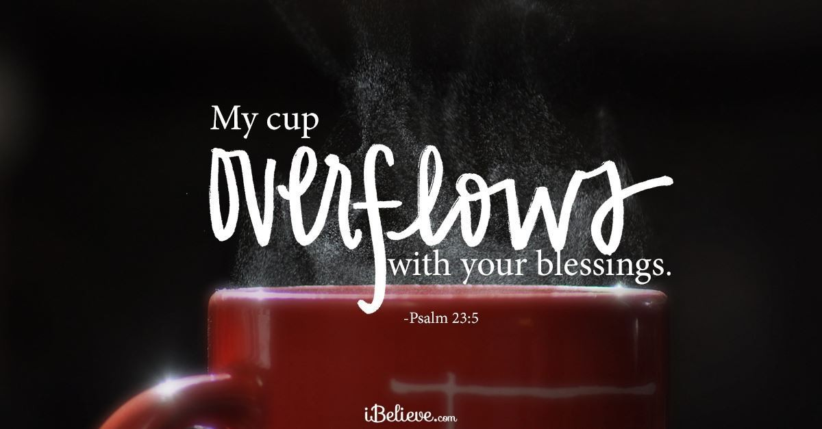 Your Daily Verse - Psalm 23:5