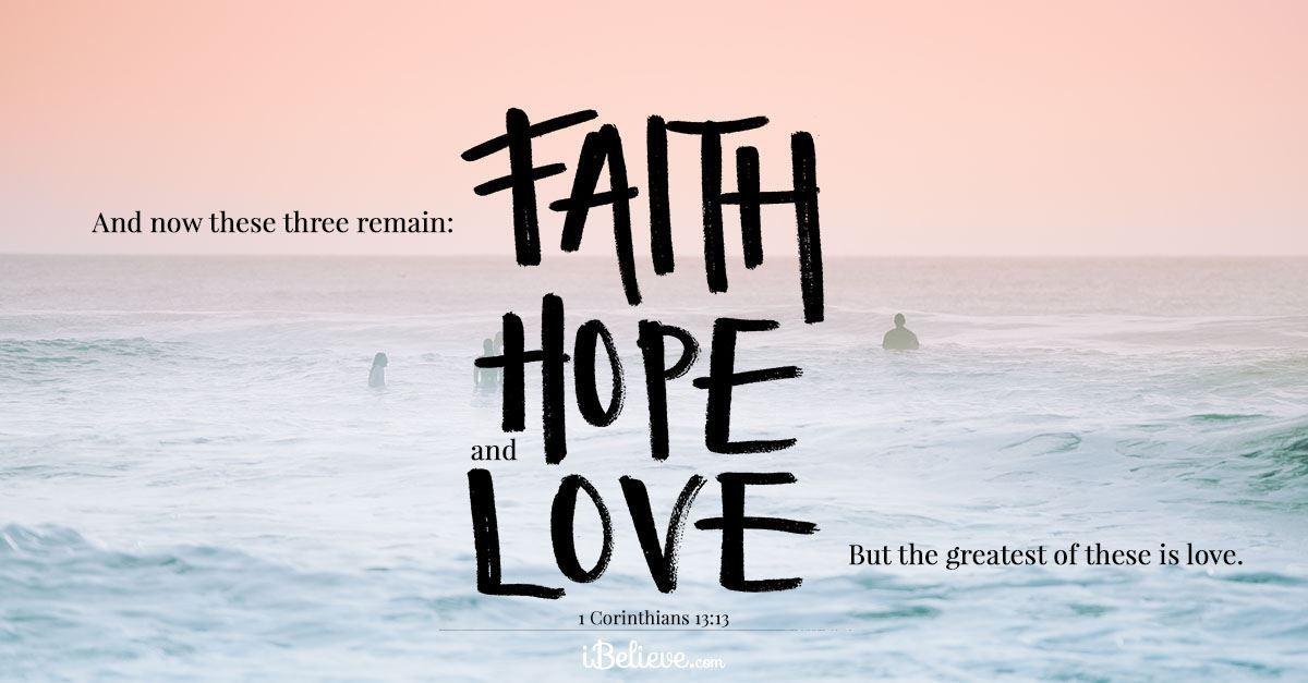 Your Daily Verse - 1 Corinthians 13:13