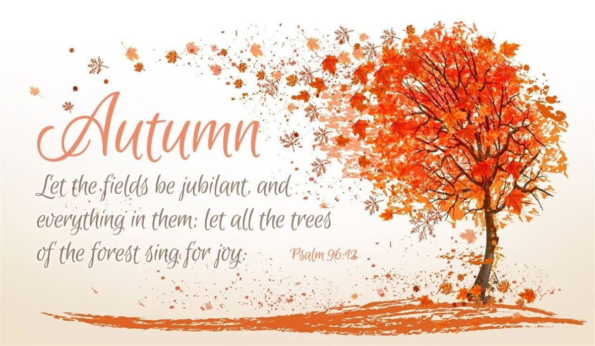 Your Daily Verse - Psalm 96:12