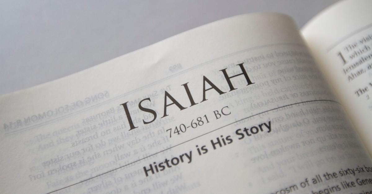Most Popular Isaiah Bible Verses