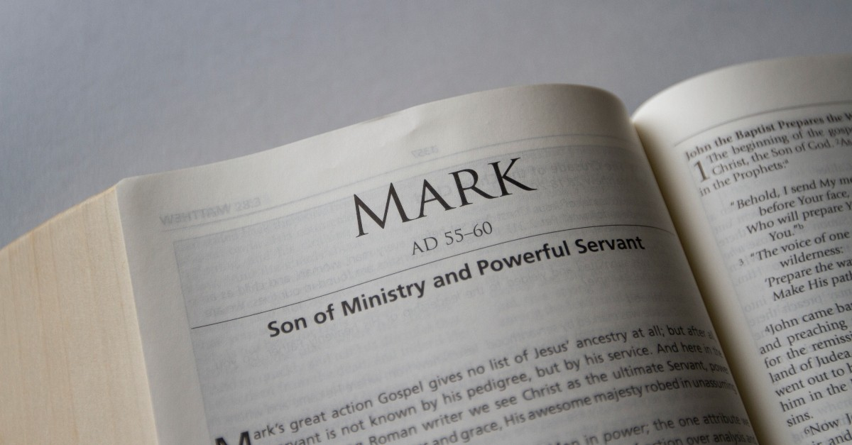 1. Jesus mentions the unforgivable sin in the gospel of Mark.
