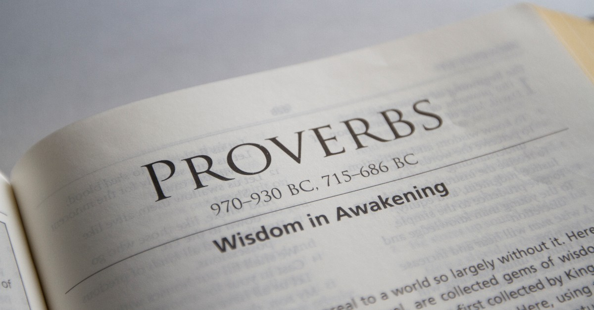 Biblical Translations of Proverbs 16:27