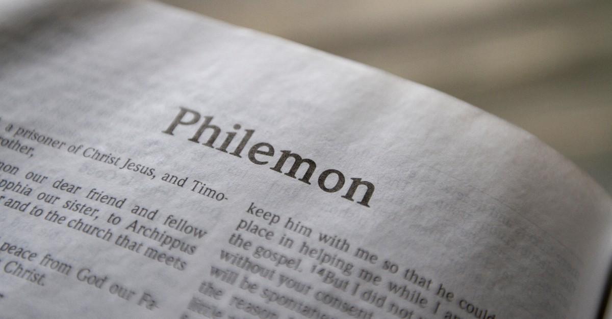 Philemon, Book of Philemon, Philemon Summary