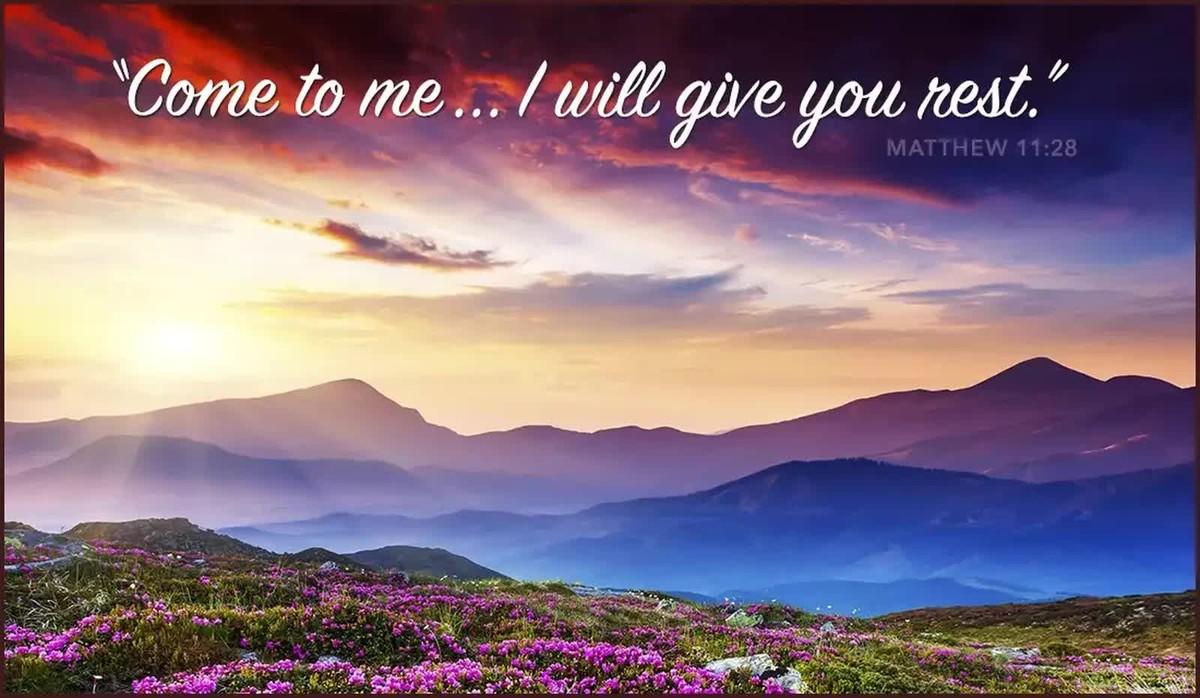 Rest Bible Verses