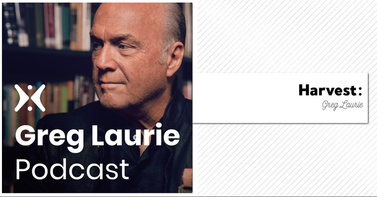 1. Harvest: Greg Laurie Audio