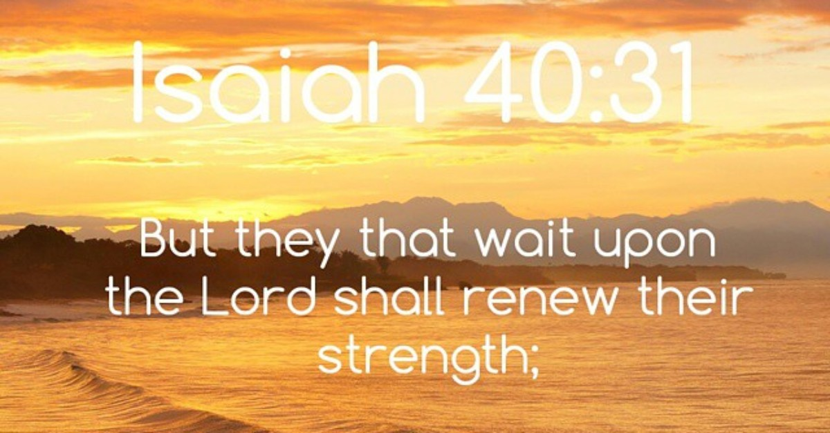 Wait on the Lord Bible Verses