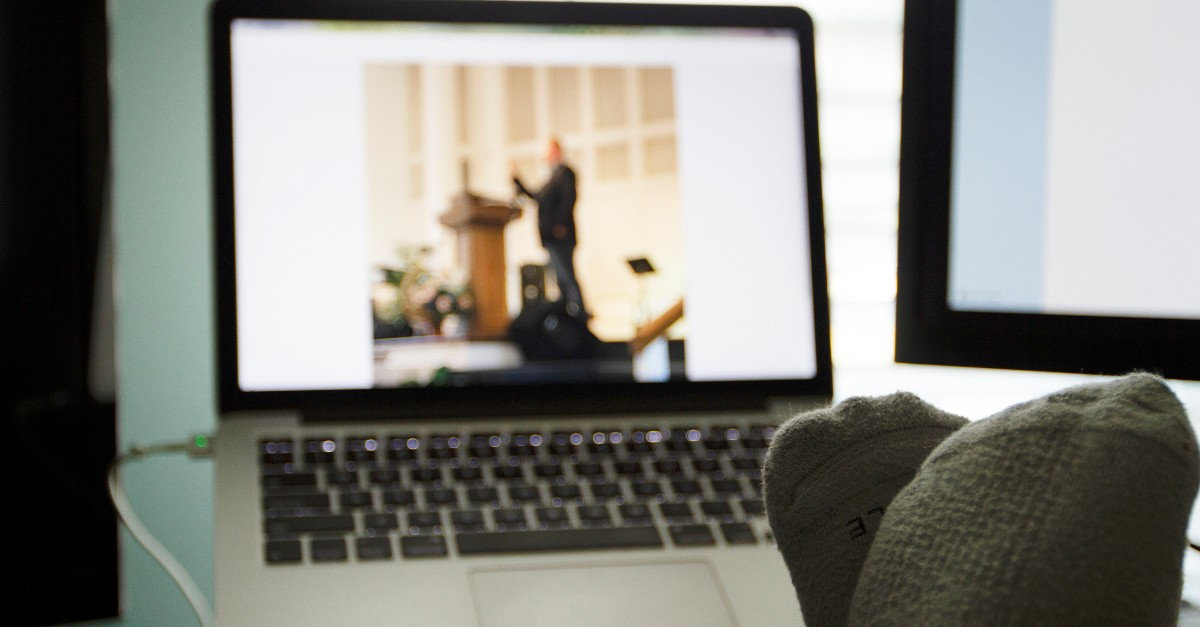 2. Watch Church Online Together As a Small Group