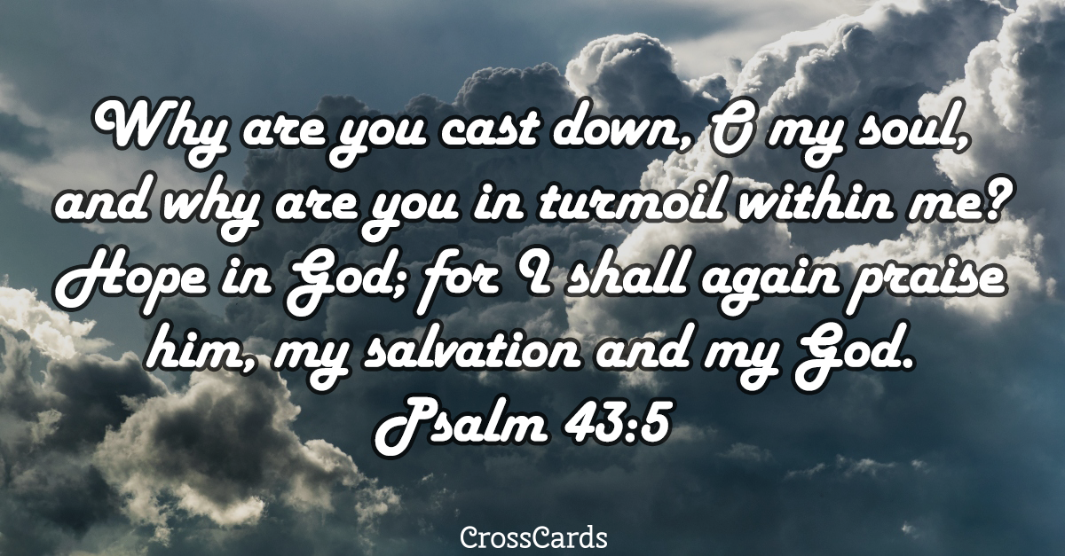 Psalm 43:5 Scripture card