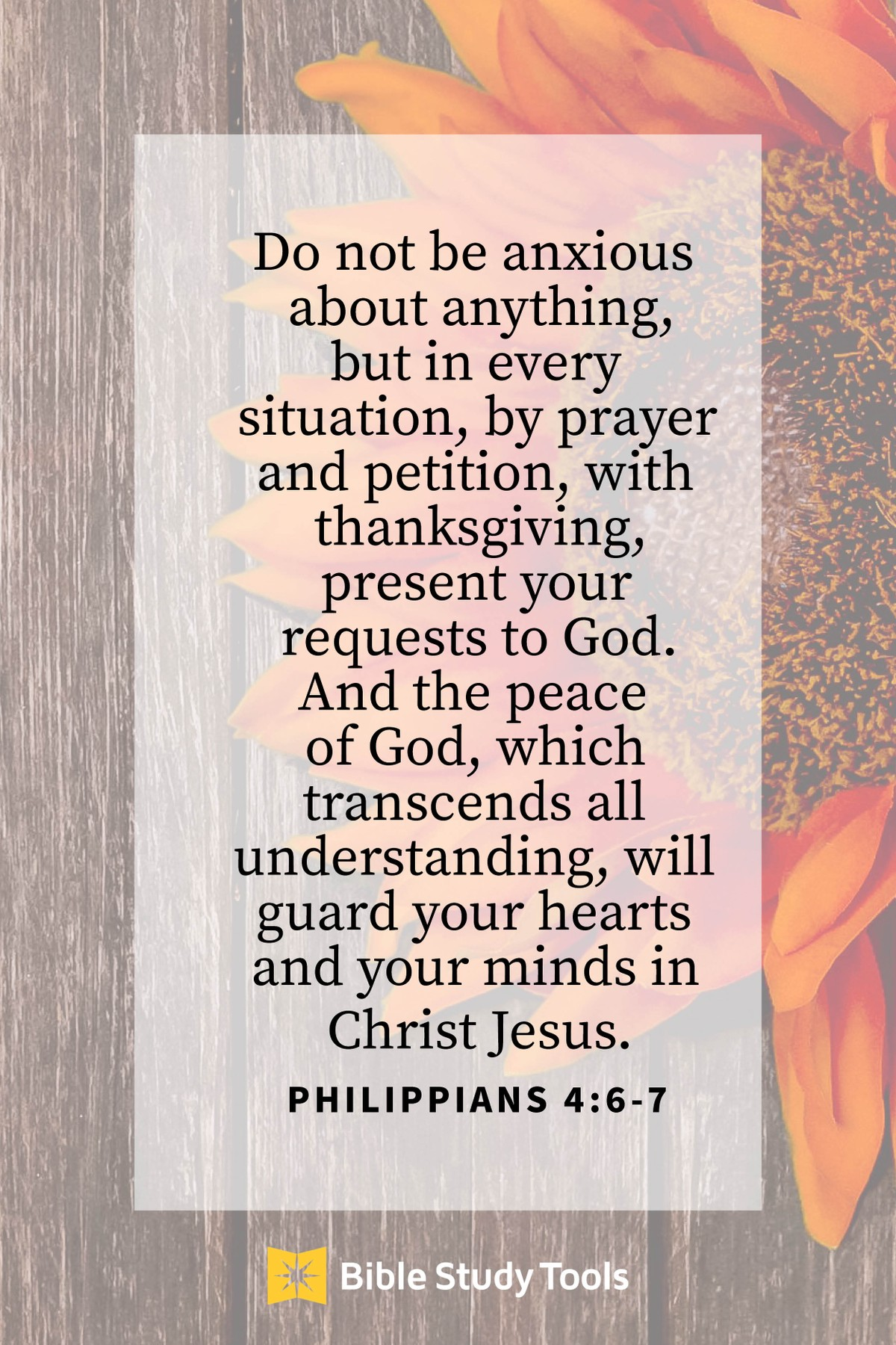 philippians 4:6-7 do not be anxious